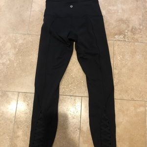 Pants - Lululemon pure practice pants size 4 * Do not buy!
